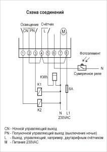 PSO-03PD - schemat połączeń ROS
